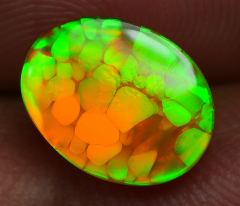 1.965 CRT BRILLIANT NEON FLORAL BEAUTY PLAY COLOR WELO OPAL