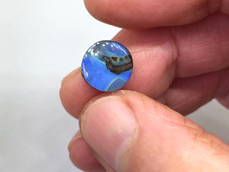 5.4ct Blue Boulder Opal QB1031