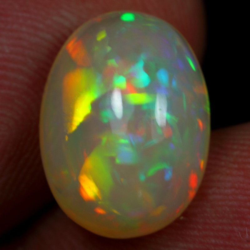 4.45cts Cell Pattern Natural Ethiopian Welo Opal