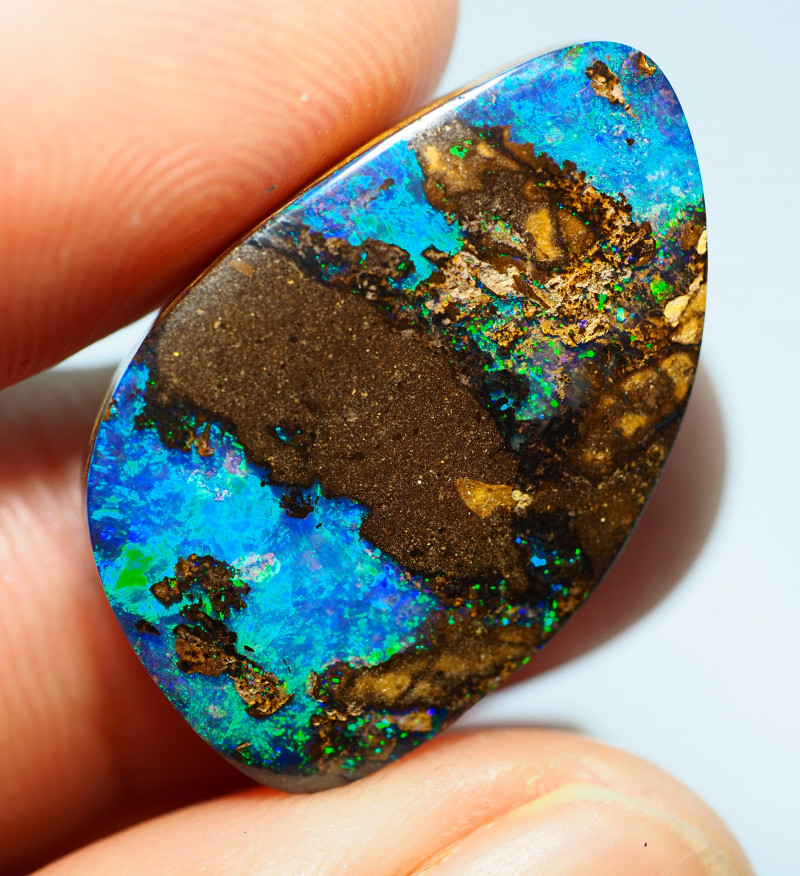 21.20CTS  YOWAH OPAL WITH AMAZING PATTERN  BJ297