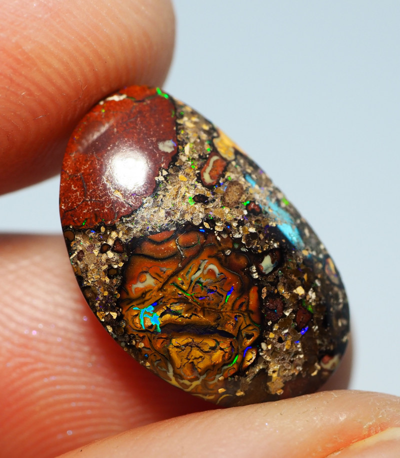 7.15CTS  YOWAH OPAL WITH AMAZING PATTERN  BJ328