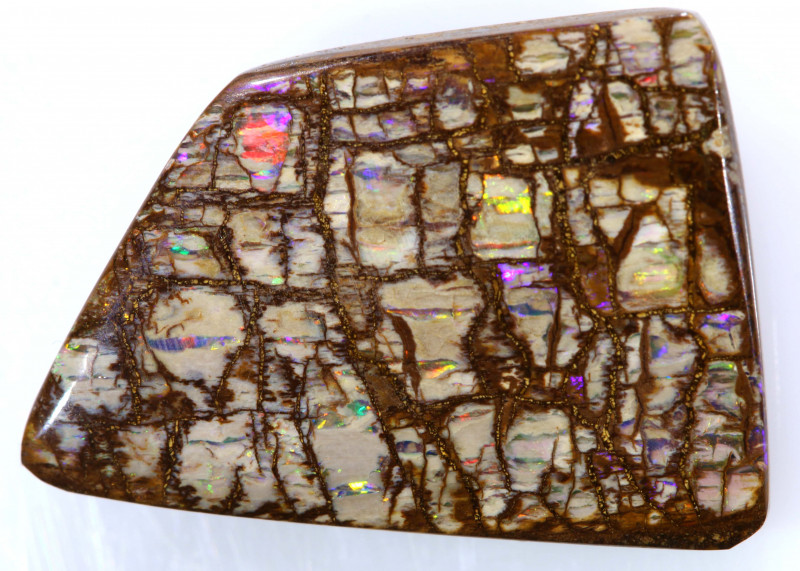 7.80 CTS BOULDER OPAL WOOD FOSSIL STONE INV-1732