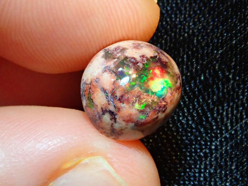 5.71ct Mexican Matrix Cantera Multicoloured Fire Opal