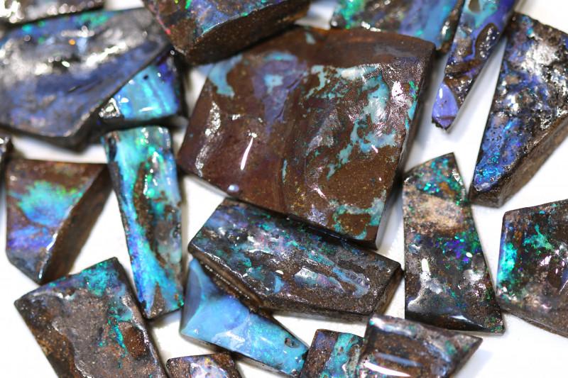 20 = 500cts Australian Boulder Opal Solid Stone ML02065