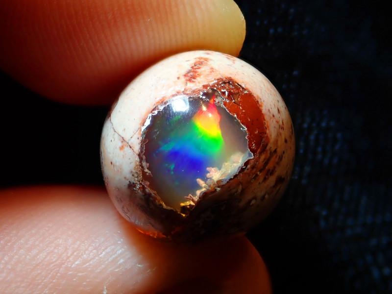 14.23ct Mexican Matrix Cantera Multicoloured Fire Opal
