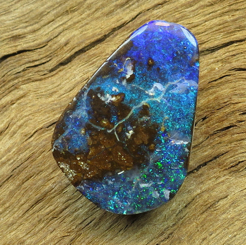 23cts, BOULDER OPAL~NATURAL SOLID STONE.