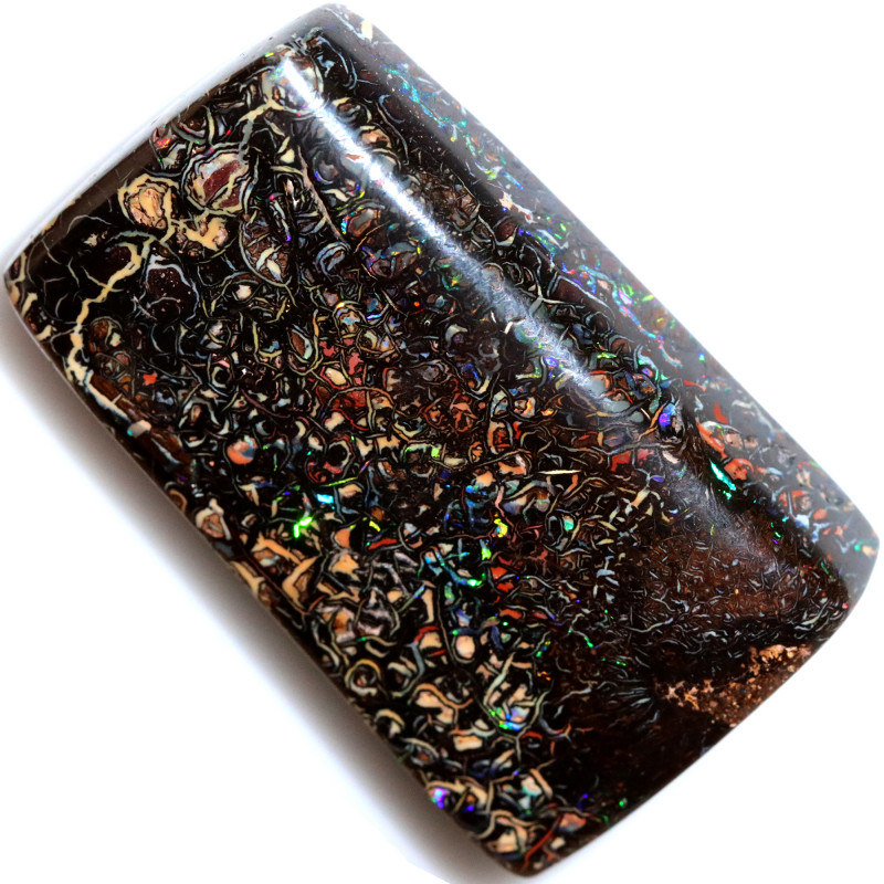 144.40 CTS STUNNING BOULDER OPAL FROM KOROIT [BMB115]