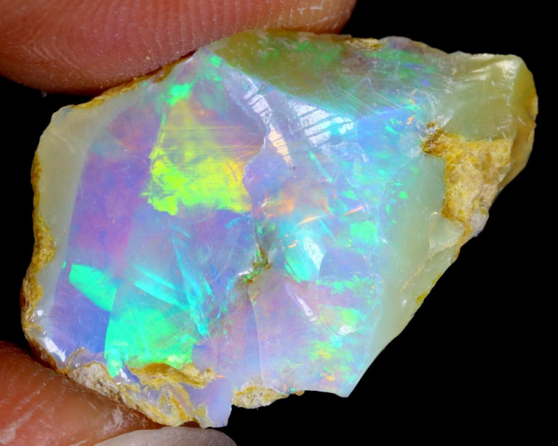 8cts Natural Ethiopian Welo Rough Opal / WR3563