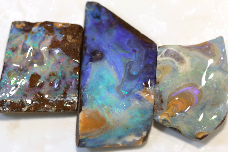 3 = 1042cts Australian Boulder Opal Solid Stone ML02132