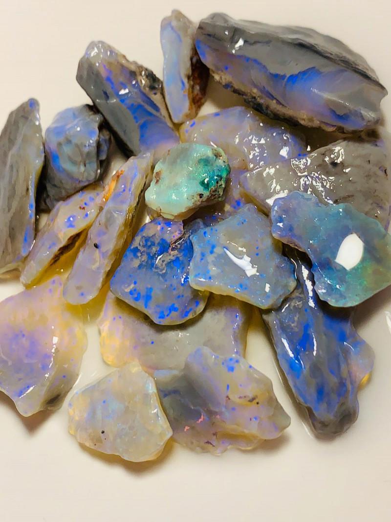 High Potential Dark Clean Rough Crystal Seams