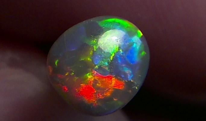 Lighting Ridge Solid Gem darl Opal Muitiple Gem colors