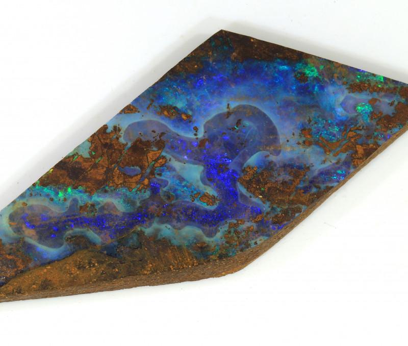 106ct 63x23mm Natural Boulder Opal Rough [BSR-0025]