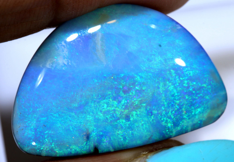 27.90 CTS QUALITY  BOULDER OPAL STONE  INV-1768