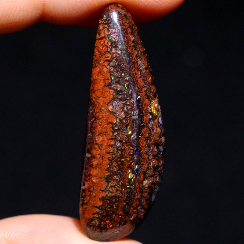 26.18 CTS STUNNING BOULDER OPAL FROM KOROIT [BMB177]