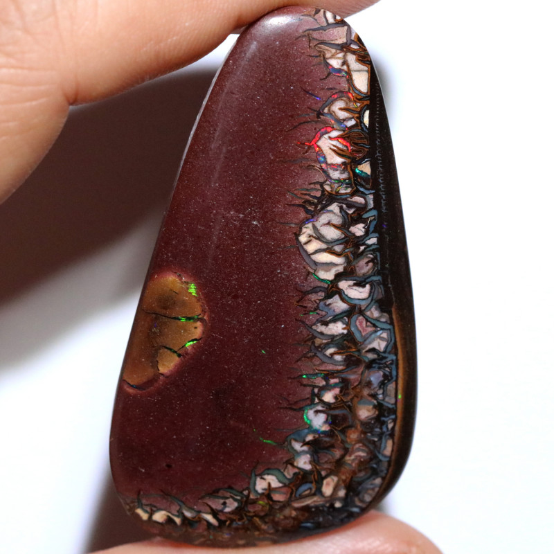 77.56 CTS STUNNING BOULDER OPAL FROM KOROIT [BMB194]