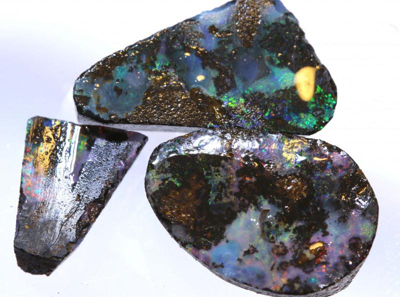 15.50 cts   Boulder opal rub parcel    ADO-5438