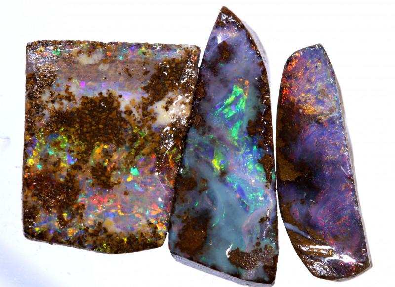 15.50 cts   Boulder opal rub parcel    ADO-5439