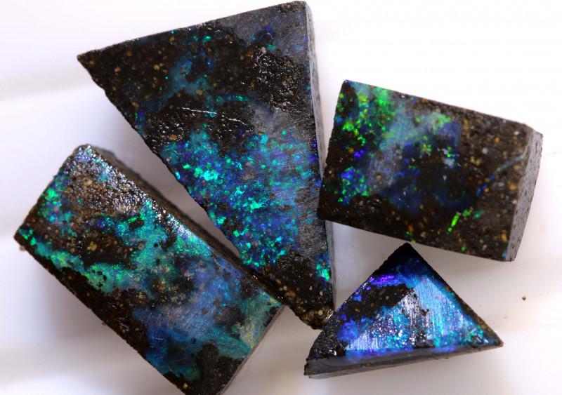 12.50 cts   Boulder opal rub parcel    ADO-5449