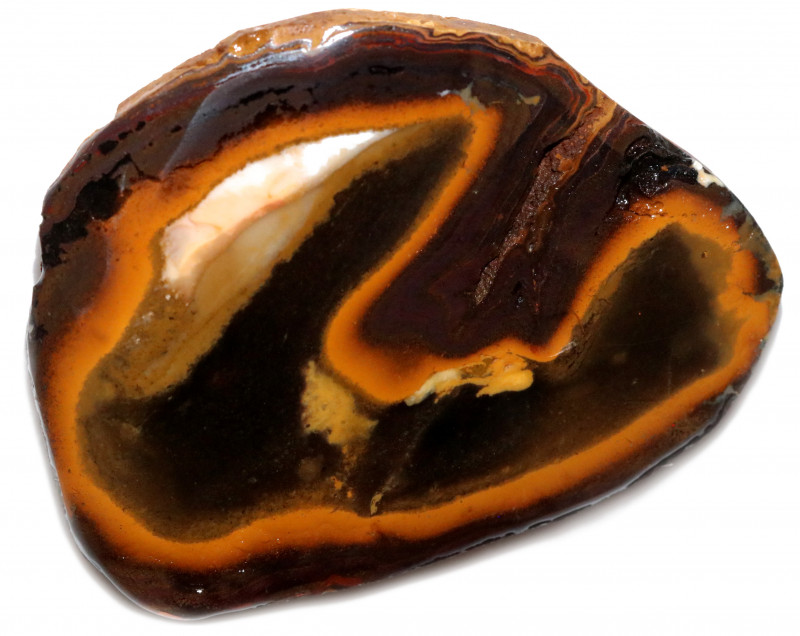 228 CTS YOWAH OPAL NUTS BLACK CENTER  [BY9660]