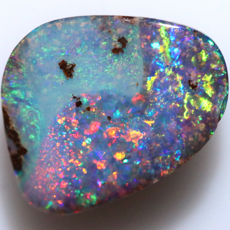 3.00 CTS STUNNING FIREY COMET BOULDER OPAL FROM KOROIT [BMB211]