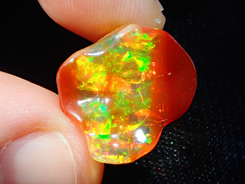 8.10ct Natural Rough Mexican Fire Opal