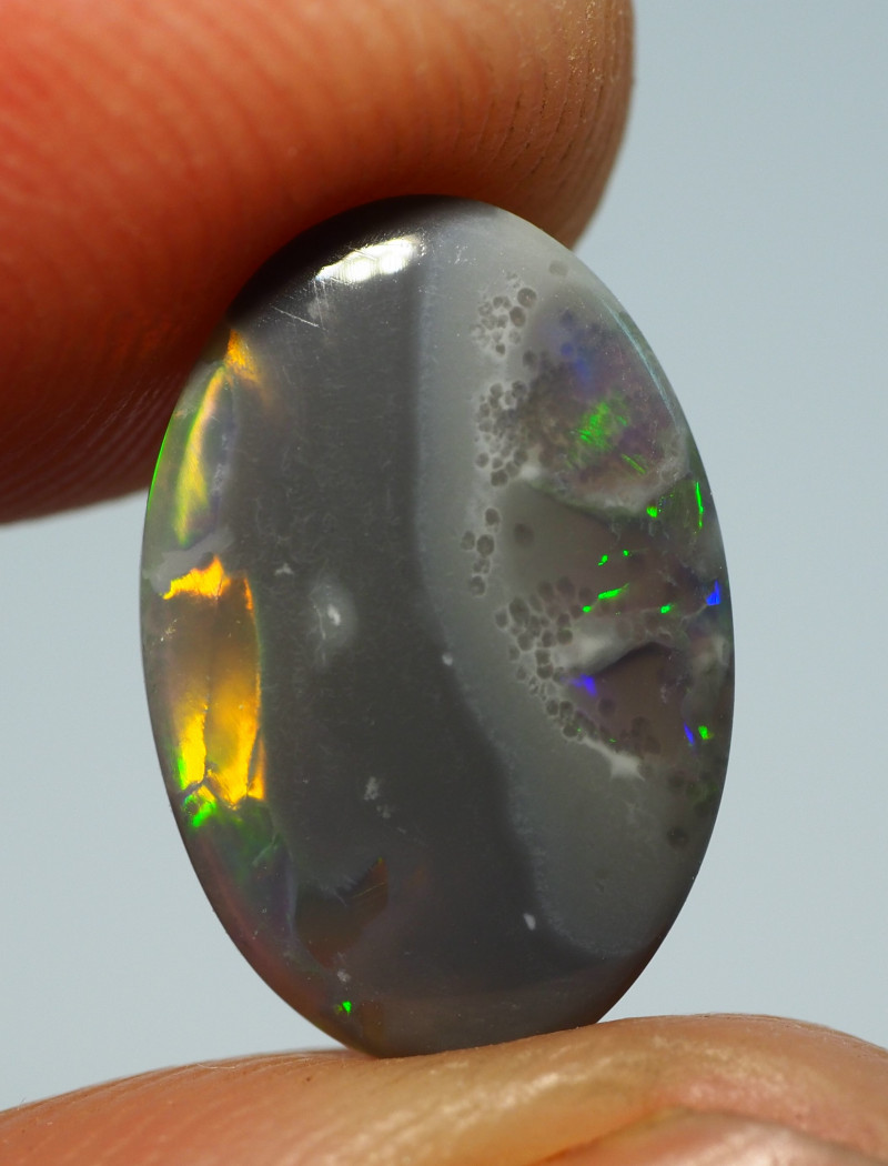 2.40CTS DARK OPAL FROM LIGHTNING RIDGE RE1103