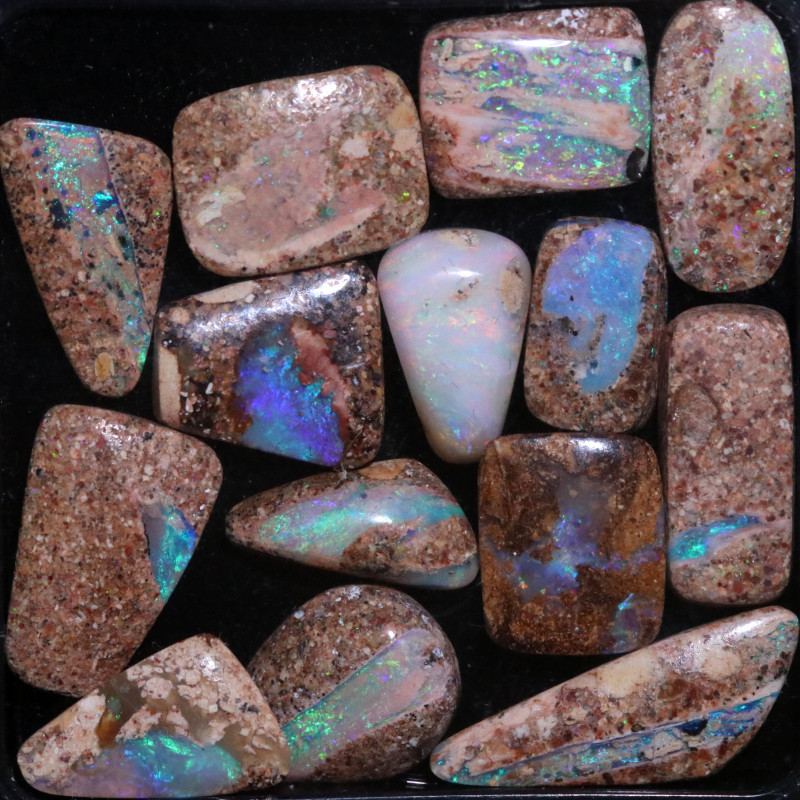 26.10 CTS WELL POLISHED PIPE OPAL PARCEL [BMB244]