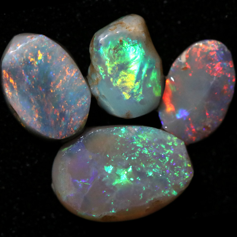 5.42 CTS  OPAL RUB PARCEL PRE FACED  [BR8011]