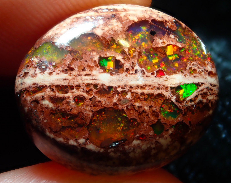 9.66ct Mexican Cantera Fire Opal Stone