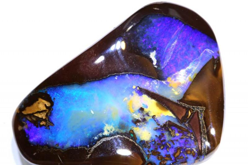 69.74 cts   Drilled Yowah Opal cut stone TBO-A1988