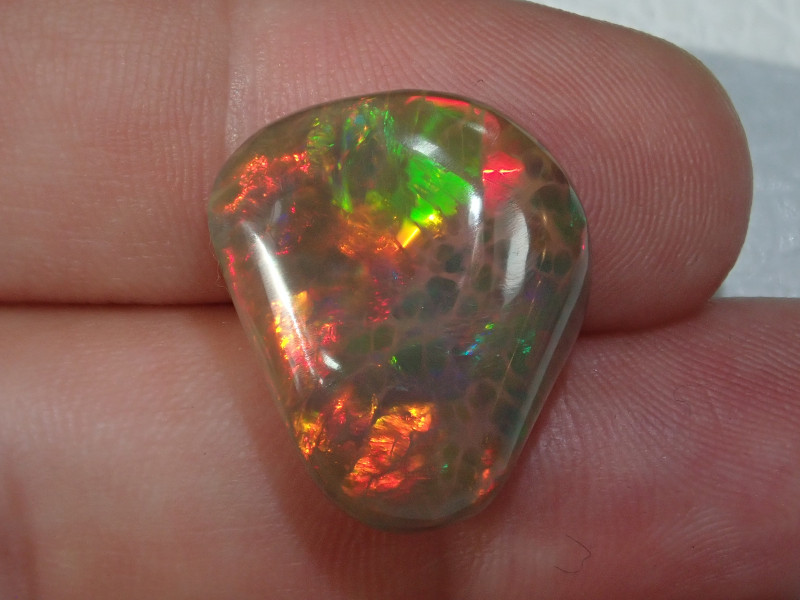 15.78ct Extremely Bright Carved Welo Solid Opal