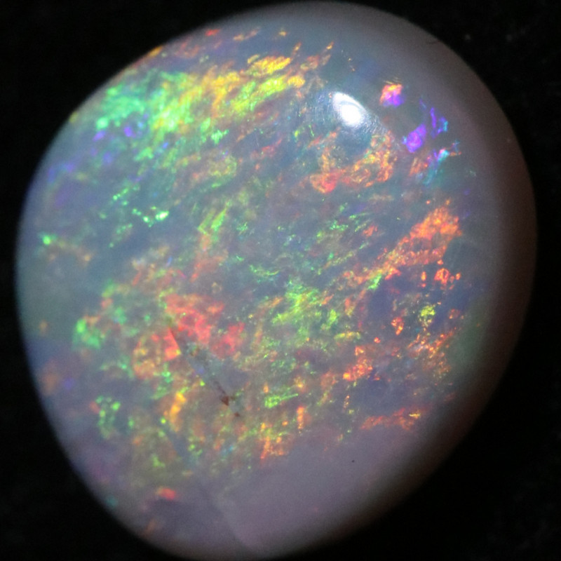 1.66 CTS SOLID WHITE CLIFFS OPAL-POLISHED[LRO1376]