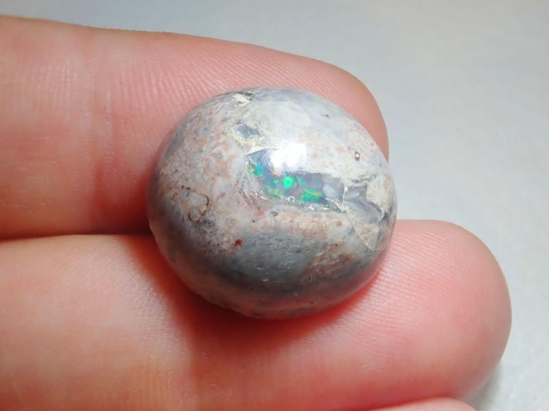 21.7ct  Mexican Matrix Cantera Multicoloured Fire Opal