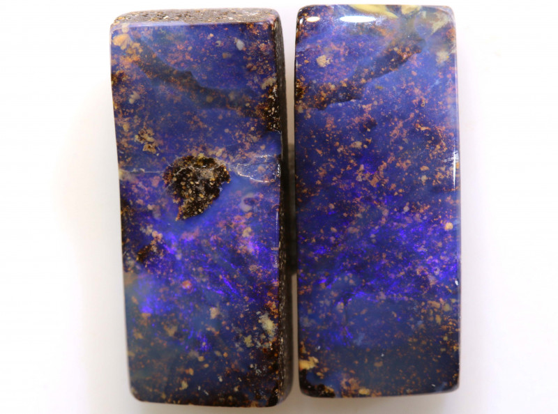 10.45CTS BOULDER OPAL PAIR TBO-A2065