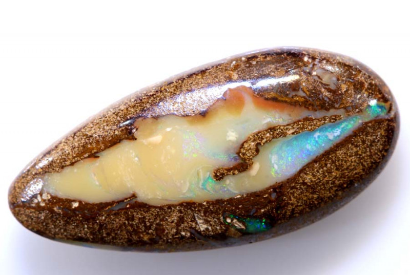 9.50 CTS BOULDER PIPE OPAL STONE    RO-129