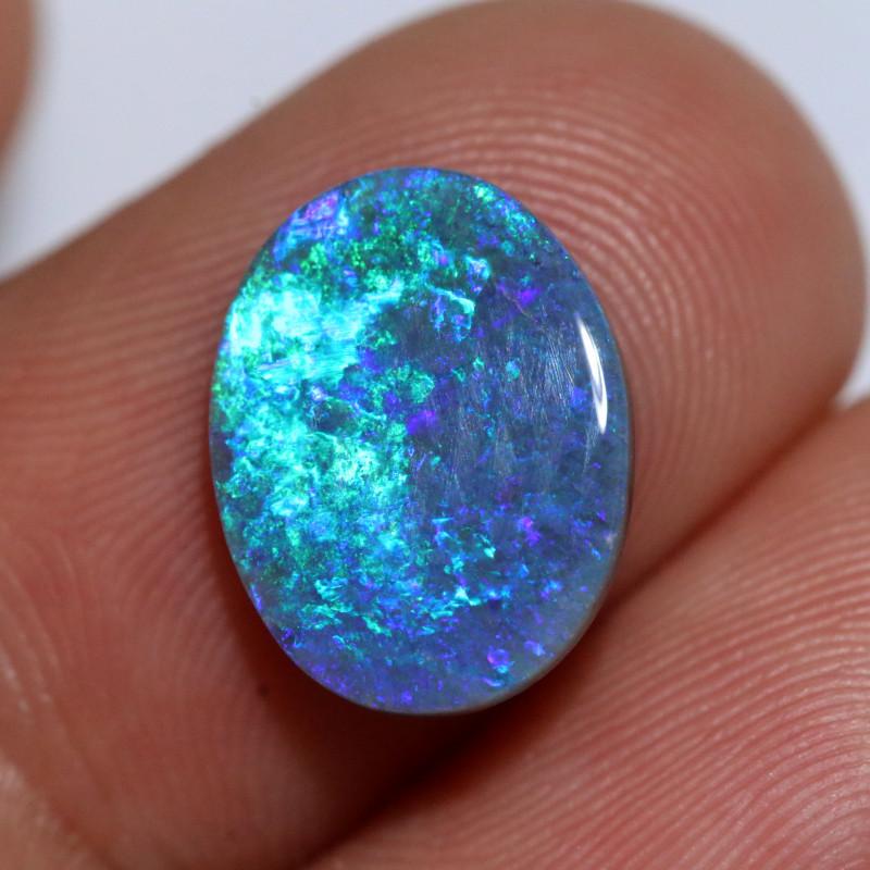 australian blue opal from lightning ridge
