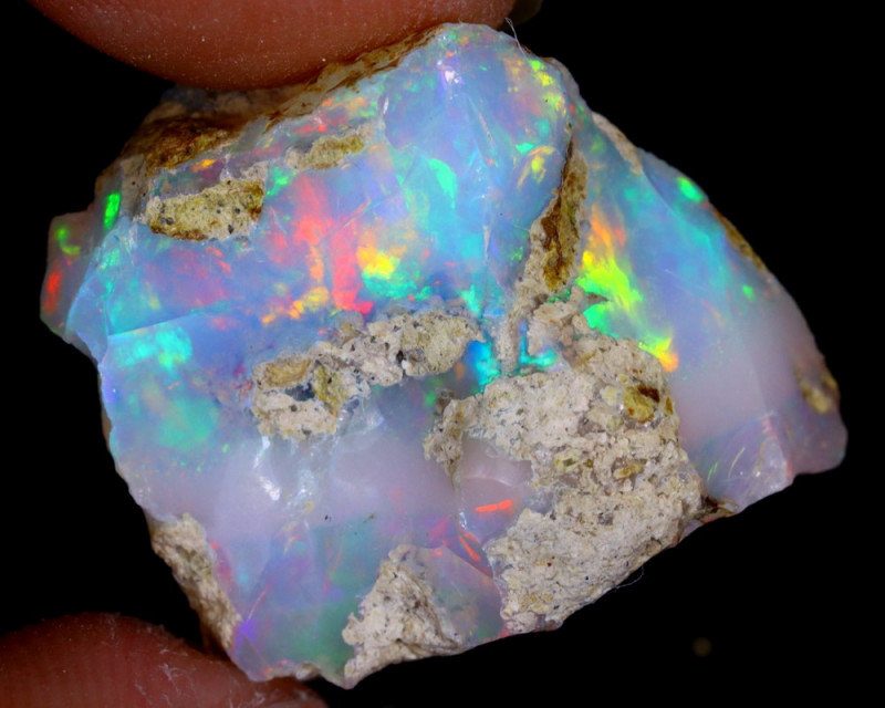 25cts Natural Ethiopian Welo Rough Opal / WR4302
