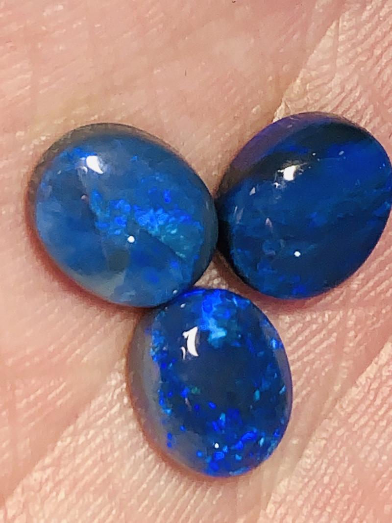October Sale, #1- 16.Oct - Set of Jewellery Black Opals#1738