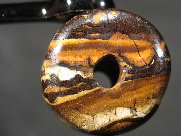 YOWAHOPALS*7.15ct BARREL BEAD - Matrix Opal