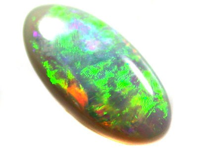 BEAUTIFUL RICH FIRE COLOUR FIRECRYSTAL OPAL .40CT QO2016