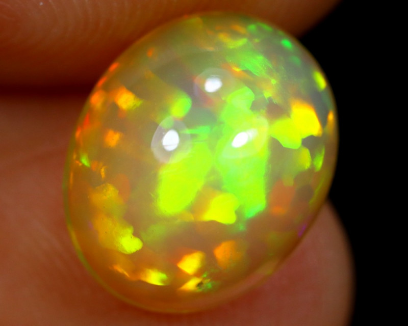 2.14cts Natural 5/5 BRIGHT Ethiopian Welo Opal / BF4017