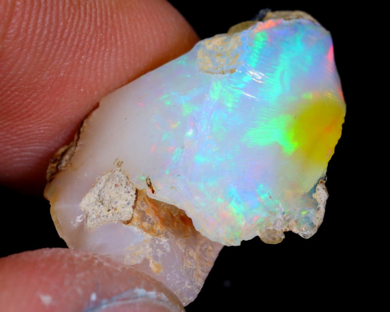 11cts Natural Ethiopian Welo Rough Opal / WR4342