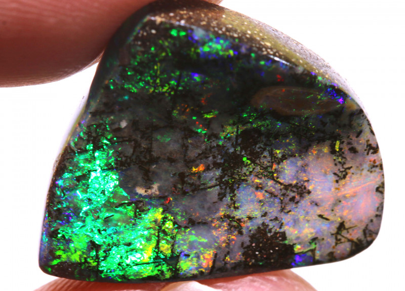 18.30CTS BOULDER WOOD OPAL POLISHED STONE  INV-229  investmentopals