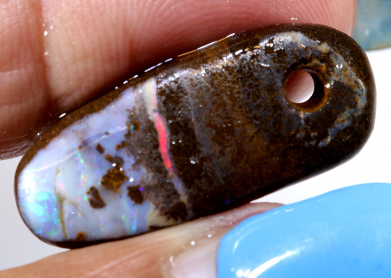 15CTS  YOWAH OPAL RUB PRE-SHAPED DRILLED  DT-A3522