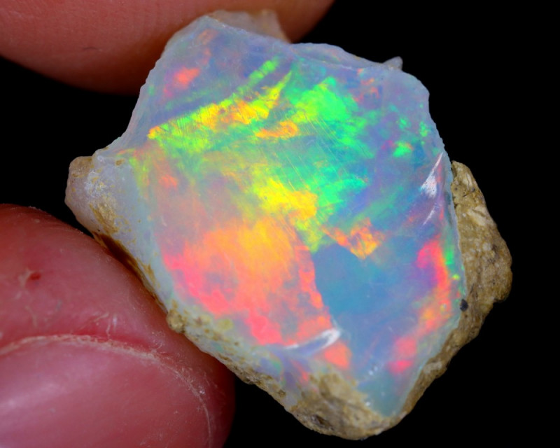 6cts Natural Ethiopian Welo Rough Opal / NY74