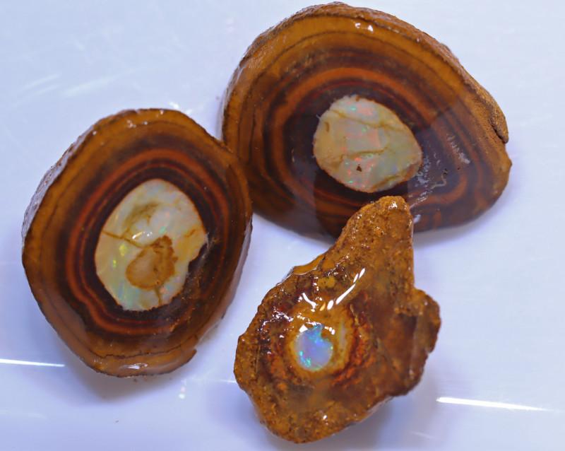 142.61 carats  Yowah Center Nut  ROUGH PARCEL ANO-958