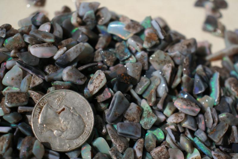 Mintabie  Black Opal 12.8 Oz PARCEL