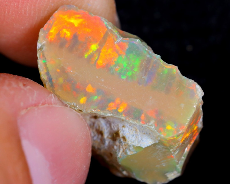 9cts Natural Ethiopian Welo Rough Opal / WR4399