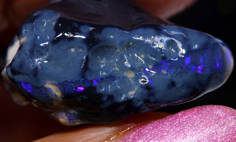 29CTS  BLACK OPAL ROUGH NOBBY L.RIDGE  DT-A3753