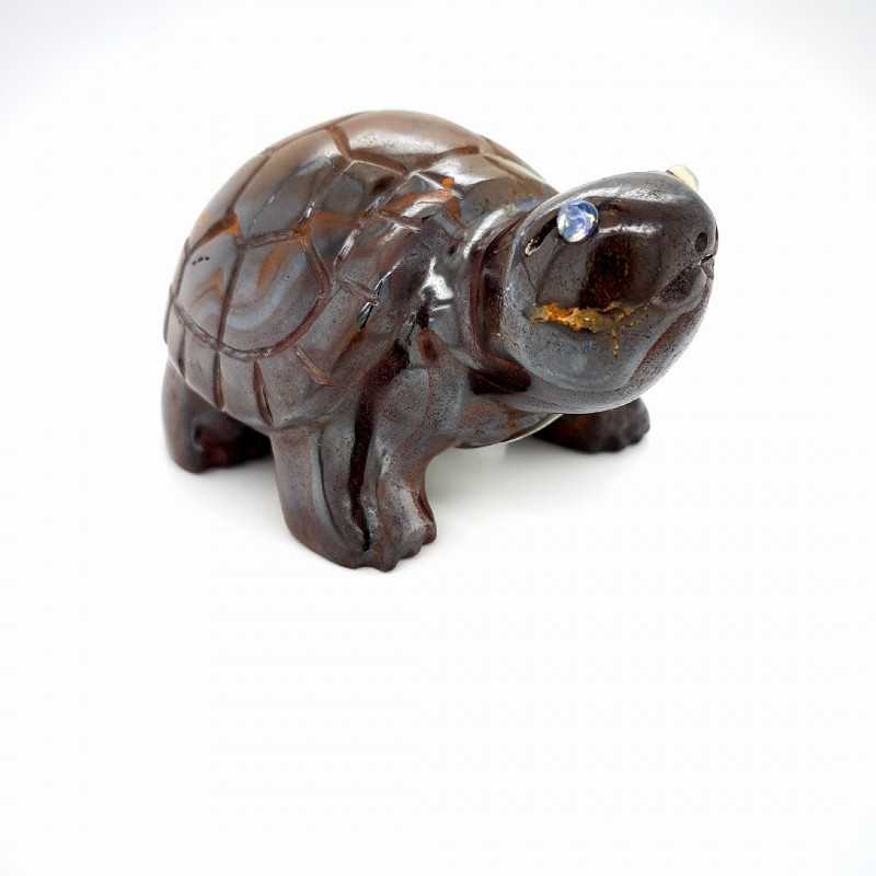 645.5 CTS OPAL ART - Boulder Tortoise 645.5 ct. 68x44x34mm